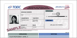 Score Reports (Official Score Certificate)